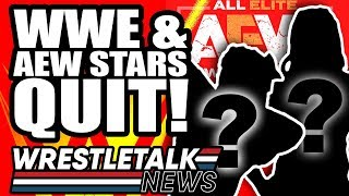 WWE & AEW Stars QUIT! AEW All Out Backstage News! | WrestleTalk News Sept 2019