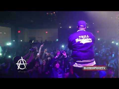 "A$AP ROCKY ""PURPLE SWAG"" x BUN B ""GET THROWED"" LIVE - HOUSTON, TX"