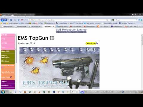 How to Install Topgun II Drivers on Windows 7 64bit and Calibrate Aim