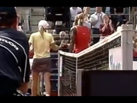 Serena Williams vs Justine Henin 2002 Berlin Highlights