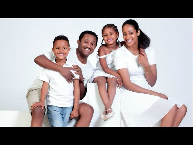 Teddy Afro & Amleset Muchie - Family Picture collections