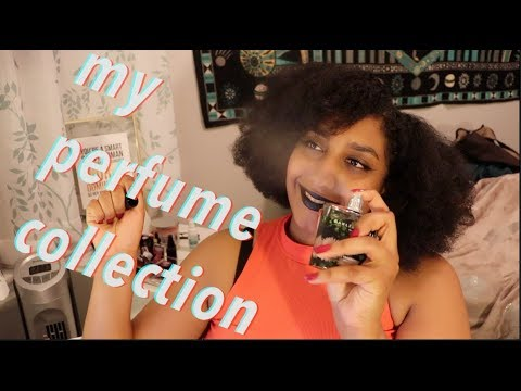 my perfume collection (realistic) (does this make me relatable)