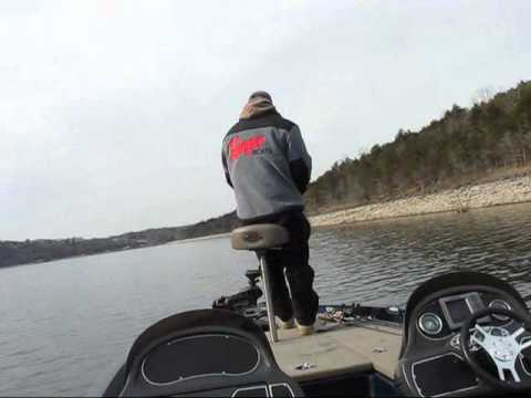 Bass Fishing Missouri III Table Rock Lake Grub