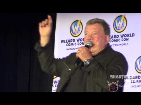 William Shatner Panel at Wizard World Sacramento 2014