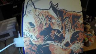 Cat Painting Time Lapse - Leo & Louie