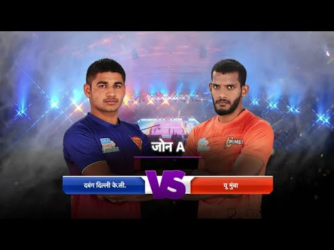 Match 106 U Mumba Vs Dabang Delhi Match Preview And Starting 7