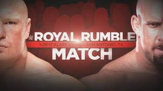 II PREDICTIONS ROYAL RUMBLE 2017