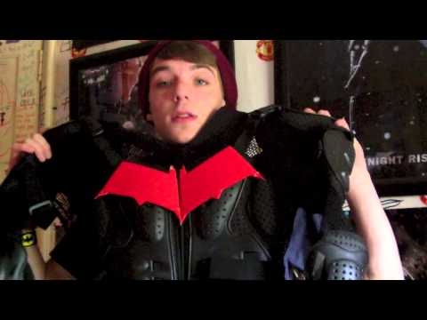 How to make a Red Hood Helmet and costume & Batman Helmet