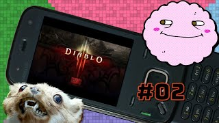 Diablo III Bootleg for Feature Phones with Yahweasel Part 2 — You sure look like that Kratos fellow!