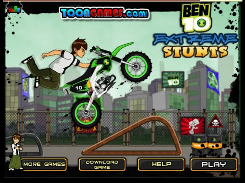 Ben 10 Games To Play Online Free - Ben 10 Extreme Stunts Game