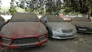 ABANDONED EXOTIC CARS IN INDIA (Ferrari, Lamborghini, Porsche,rolls royce etc