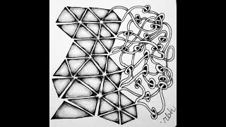 Weekly Zentangle® Tangle Video: TRIPOLI