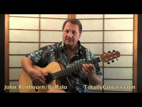 John Renbourn - Buffalo Guitar lesson