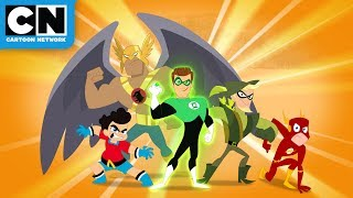 Meet the Invinci-Bros! | DC Super Hero Girls | Cartoon Network