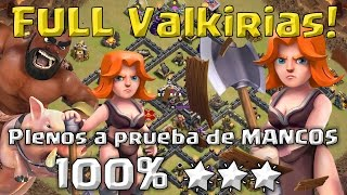 TH9 Full Valquirias: Pleno 100% 🌟🌟🌟 | Clash of Clans