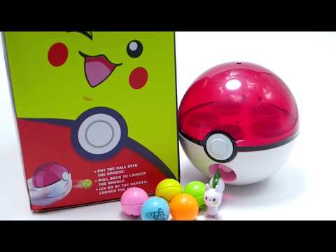 Pokemon Go Pokeball Shoot Ball Toy