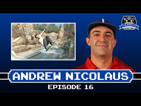 Andrew Nicolaus (USA Skate Olympic Coach) Plays S.K.A.T.E. In EA Skate 3 | Berrics Gaming #16