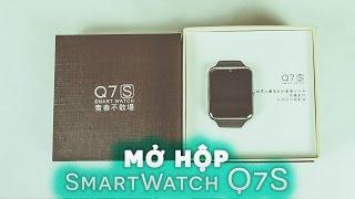 Mở hộp và đánh giá nhanh đồng hồ thông minh Kiwi Watch Q7s