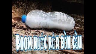 Minh peter-Test boom Axit Nước Tẩy Rửa Bồn Cầu Nổ Kinh Hoàng Cả Xóm Phải Chạy ra xem
