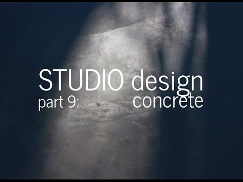 Designing a Small Studio - Pouring the Concrete Slab. Part 9