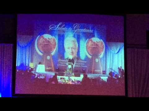 Bill Clinton on Beloved Community - MLK Jr Salute To Greatness 2015