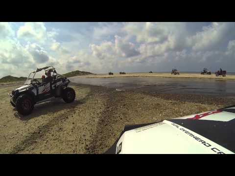 RZR and ATV on the beatch DK 2014