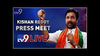 BJP Leader Kishan Reddy Press Meet LIVE - TV9