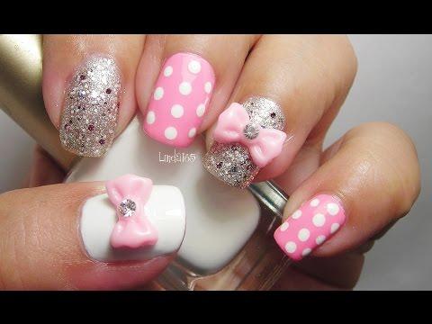 Nail Art - Beautiful Sparkles - Decoracion de Uñas