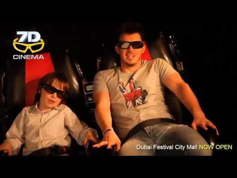 7d cinema dubai festival city mall