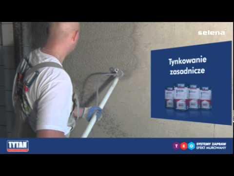 Tynki maszynowe - wykończenie ścian w systemie Tytan TEO