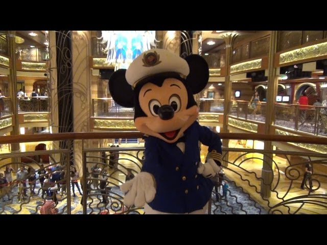 Captain Mickey Meet and Greet on Disney Dream Cruise Ship, Disney Cruise Line