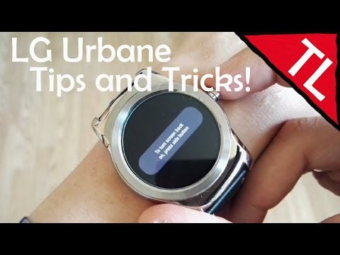 LG Urbane: Tips and Tricks!