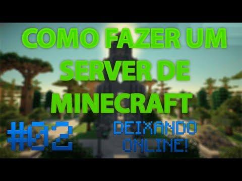 Como fazer um Servidor de Minecraft #02 // Deixando Online (Sem Hamachi)