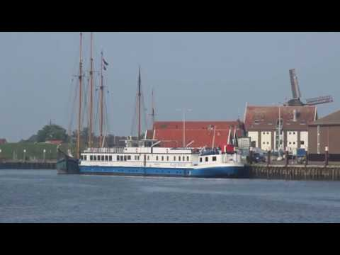 mit Rad + Schiff ANGELA ESMEE durch Nordholland