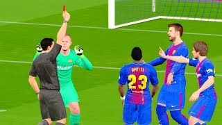 Getafe vs Barcelona 16 Sep 2017 Gameplay