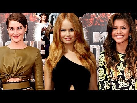 MTV Movie Awards 2014 Best Dressed - Shailene Woodley, Zendaya