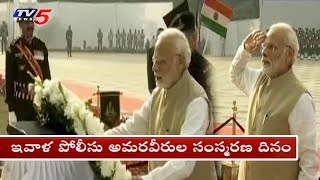 PM Modi Inaugurates National Police Memorial Museum as a Tribute to Police Martyrs | Delhi | TV5