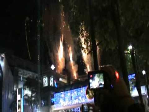 2011 countdown at Central World, Bangkok, Thailand