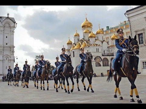 Развод караула в Кремле  2016 . Полная церемония.