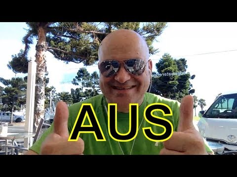 Оттягиваюсь в командировке на курорте Geelong недалеко от Мельбурна December 2017 day1 video 1