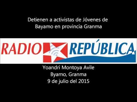 Detenidos activistas de Jóvenes de Bayamo en Cuba