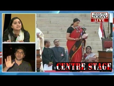 Centre Stage: CONG leaders question Smriti Irani's educational qualification