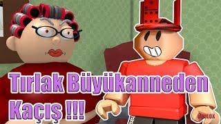 Tırlak Büyükanneden Kaçış !!! / Escape Grandma's House Obby! / Roblox