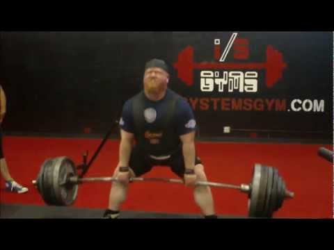 Henry Thomason - XPC Powerlifting Deadlift Training 2/17/13 @ BAG - 2 weeks out Image 1