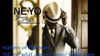Watch Ne-yo Out Of My League video