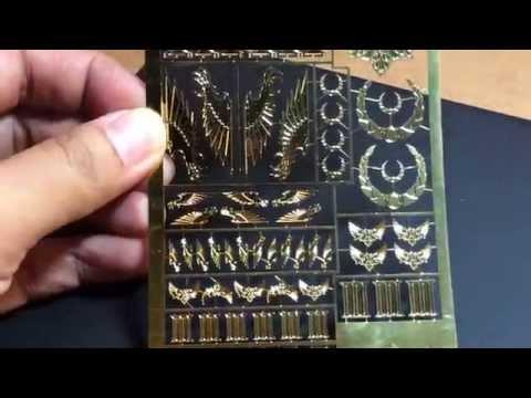 Forgeworld Emperor's Children Brass Etch Product Review - Shane Smyth JPC 2014 Appreciation