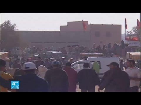 مقتل 15 شخصا في تدافع خلال توزيع مساعدات غذائية في إقليم الصويرة #1