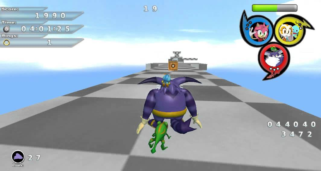 Lest try play BlitzSonic Heroes Demo 2