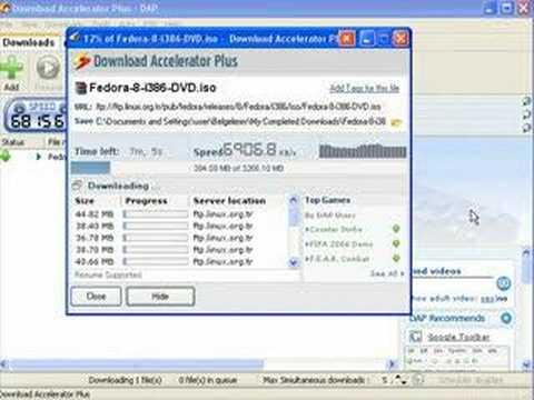 Fast download & Speed test (100 mbps)