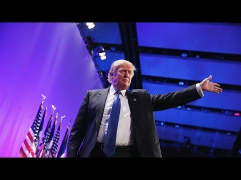 Donald Trump cracks jokes on the campaign trail